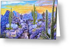 Howling Good Evening Greeting Card