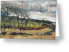 Howling Winds Sweden Greeting Card