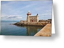 Howth Lighthouse Greeting Card