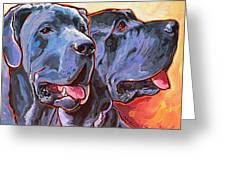 Howy And Iloy Greeting Card