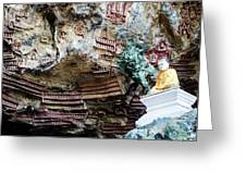 Hpa-an Caves Greeting Card