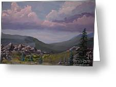 Hualapai Mountains Greeting Card