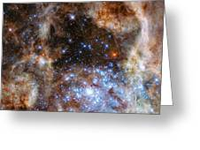 Hubble Finds Massive Stars Greeting Card