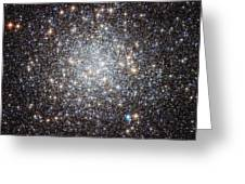 Hubble Image Of Messier 9 Greeting Card