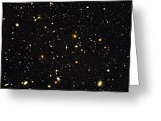 Hubble Ultra Deep Field Galaxies Greeting Card by Nasaesastscis.beckwith, Hudf Team