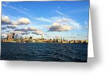Hudson Waterfront Greeting Card