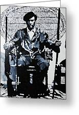 Huey Newton Minister Of Defense Black Panther Party Greeting Card