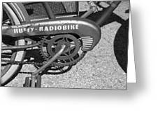 Huffy Radio Bike Greeting Card