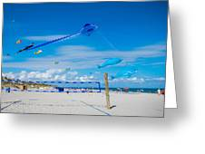 Huge Kites Delray Beach Greeting Card