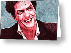 Hugh Grant Greeting Card