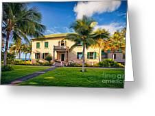 Hulihe'e Palace, Kona, Big Island Hawaii Greeting Card