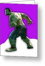 Hulk Collection Greeting Card