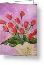Hull Roses Greeting Card