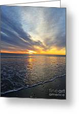Hull Sunrise In March  Greeting Card