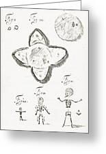 Human Embryo Development, 1685 Greeting Card