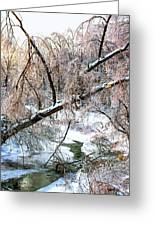 Humber River Winter 3 Greeting Card