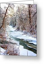 Humber River Winter Greeting Card