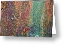 Hummingbird Dream Greeting Card