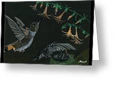 Hummingbird Parents Greeting Card