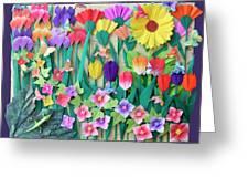 Hummingbird's Delight By Mary Ellen Palmeri Greeting Card