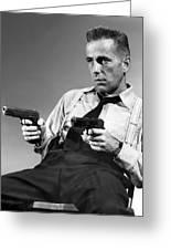Humphery Bogart As Gangster Roy Earle High Sierra 1941 Greeting Card