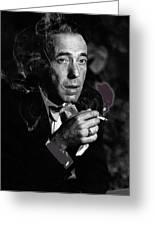 Humphrey Bogart Portrait #2 Circa 1954-2014 Greeting Card