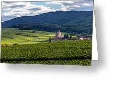 Hunawihr In The Vineyards Greeting Card