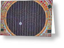 Hundertwasser Shuttle Window Greeting Card