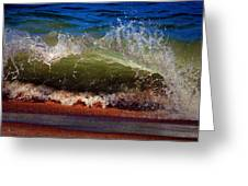 Hungry Wave Of Fenwick Island Greeting Card
