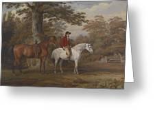 Hunter And Huntsman Greeting Card