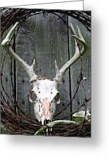 Hunters Wreath Greeting Card