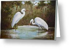 Hunting For Prey Greeting Card