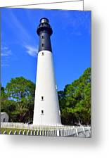 Hunting Island Lighthouse Beaufort Sc Greeting Card