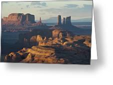 Hunt's Mesa View 7602 Greeting Card