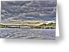 Hurricane Irene On Tillery Greeting Card