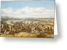 Hussars At The Battle Greeting Card