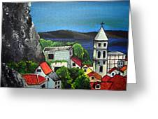 Hvar Greeting Card