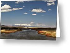 Hwy 142 Rio Grande River Greeting Card