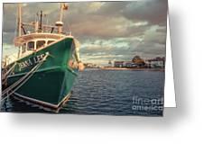Hyannis Harbor Cape Cod Massachusetts Greeting Card