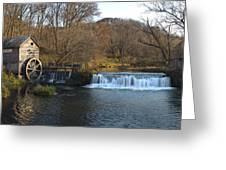 Hyde Mill Wisconsin Greeting Card