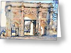 Hyde Park Entrance Greeting Card