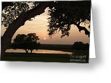 Hyde Ranch Sunset Greeting Card