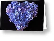 Hydrangea Heart Greeting Card