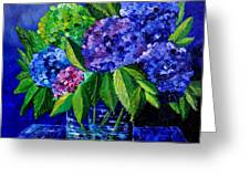Hydrangeas 88 Greeting Card