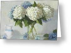 Hydrangeas For Susan Greeting Card