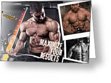 Hydro Muscle Max Greeting Card