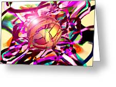 Hyperball Greeting Card
