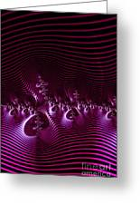 Hypnotique Pink Greeting Card