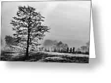 I-40 Fog Greeting Card