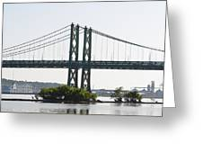 I-74 Bridge Greeting Card